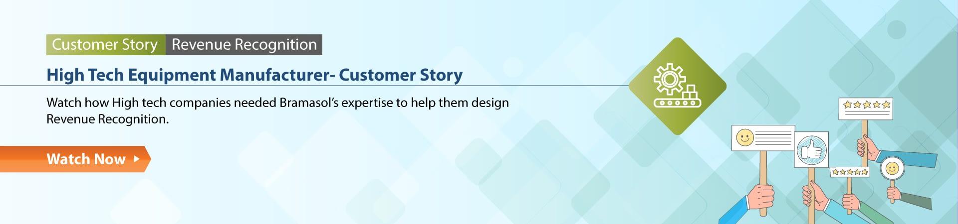 High Tech Equipment Manufacturer Customer Story