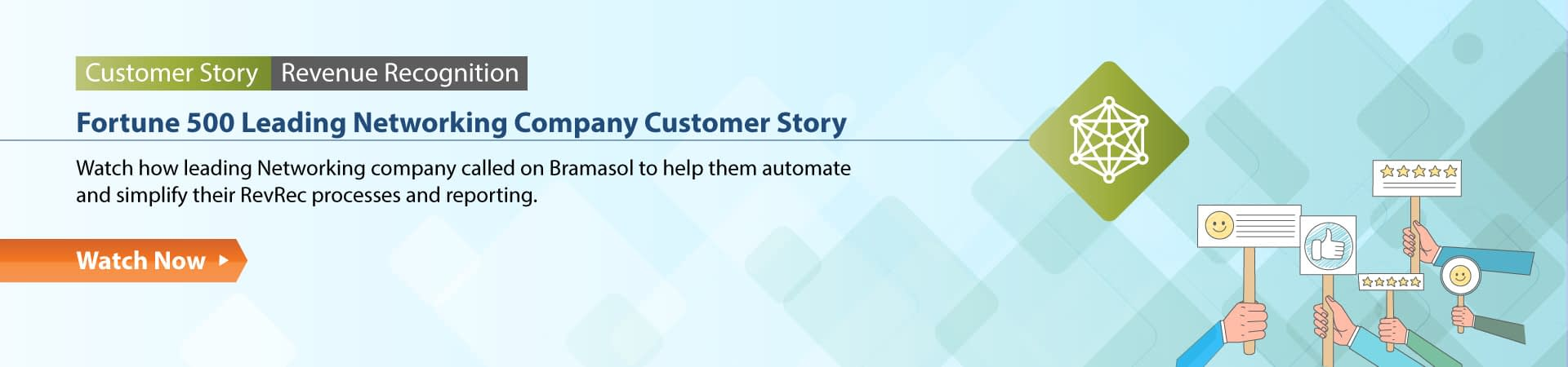 Fortune 500 Leading Networking Company Customer Story