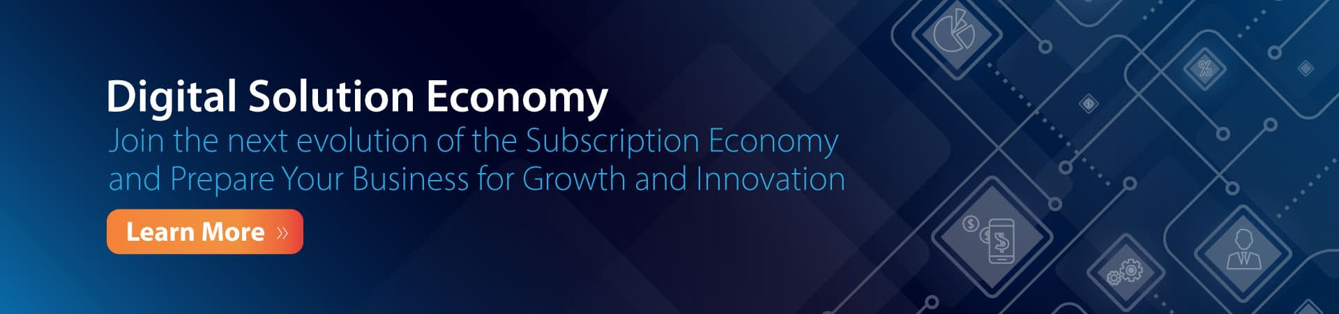 Digital Subscription Economy Solutions Banner