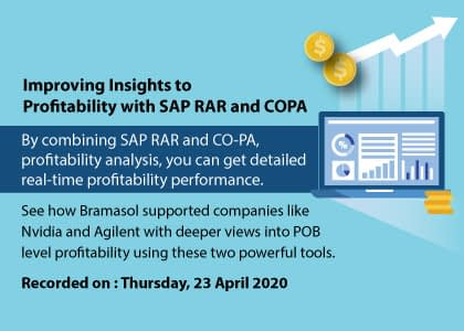 SAP RAR and COPA