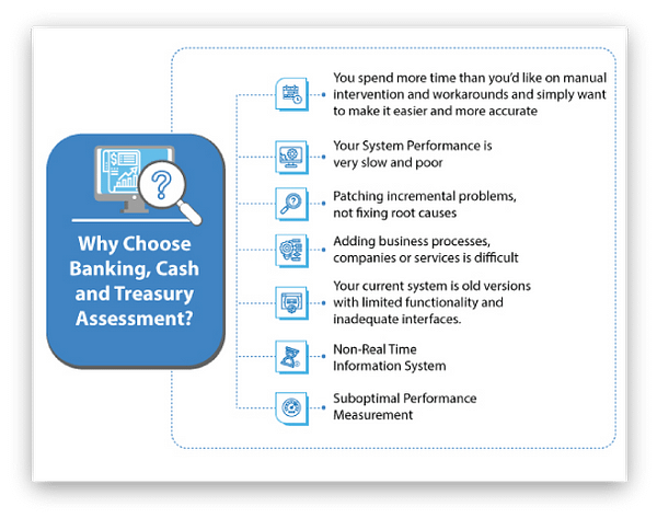 Why Choose Banking, Cash and Treasury Assessment?