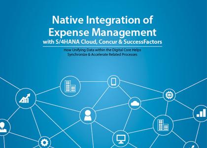 Native Integration of Expense Management with S4HANA Cloud, Concur & SuccessFactors