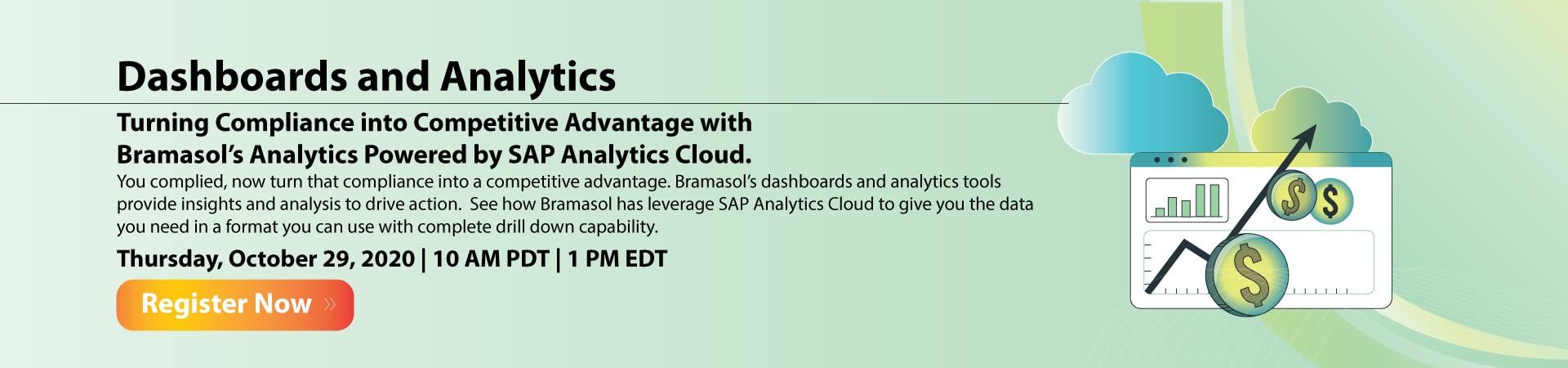 Dashboards and Analytics Banner