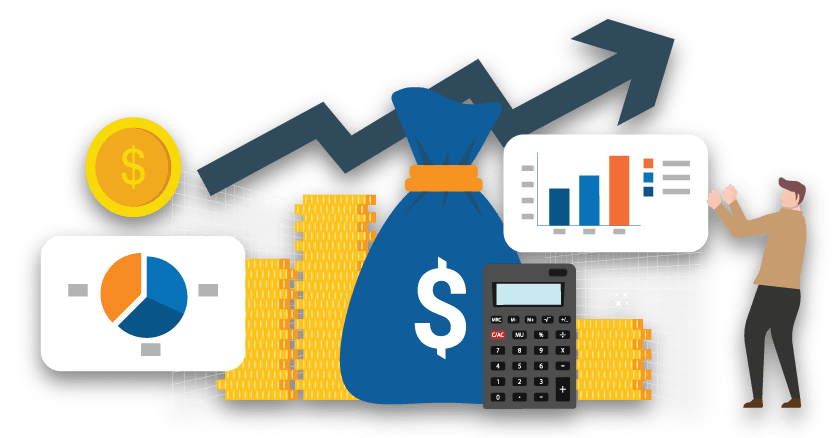Revenue Recognition Services Banner Vector