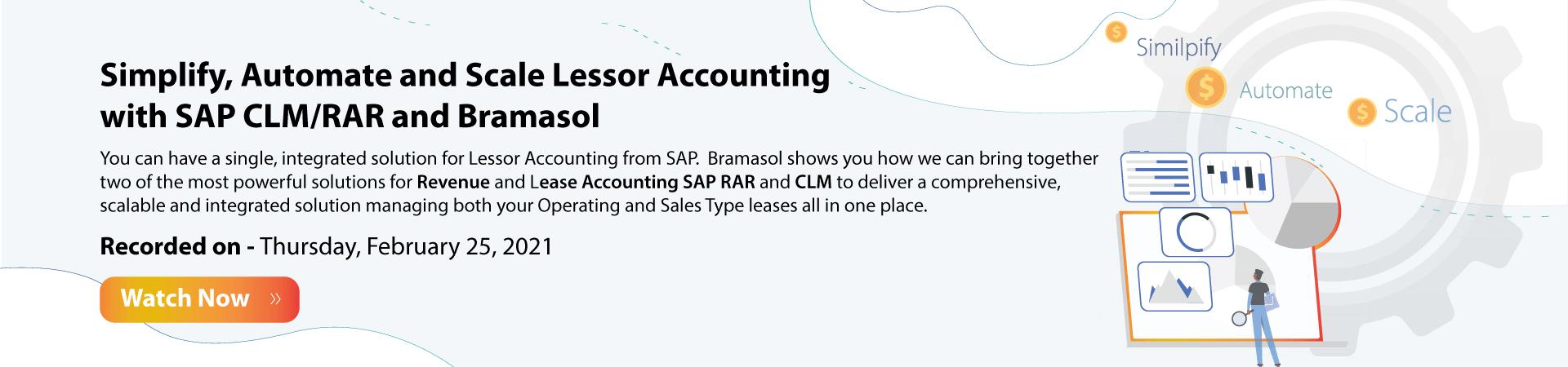 SAP Revrec and CLM Banner
