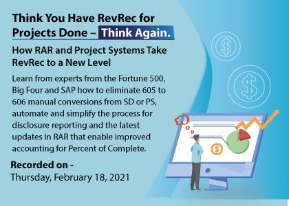 SAP Revrec
